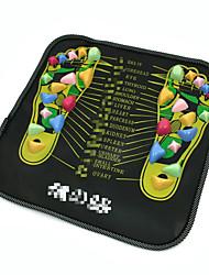 Pied Masajeador Manuel Shiatsu Enlève la Fatigue Générale Portable Mixte