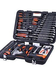Sheffield® s010061 Kit de ferramentas domésticas de 61pc com caixa de ferramentas
