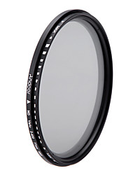 Aoer 77mm nd fader neutrální hustota nastavitelná nd2 na nd400 proměnný filtr pro kanon nikon dslr fotoaparát