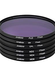 A více než 77 mm uv cpl fld nd (nd2 nd4 nd8) fotografický filtr kit set ultrafialový kruhově polarizující fluorescenční neutrální filtr