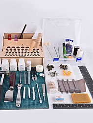Boîte à outils en cuir fait à la main et au crabe Kingdom®