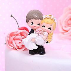 Kakepynt Klassisk Par / Artig & Underspillet Harpiks Bryllup / Bridal Shower Hage Tema / Klassisk Tema Gaveeske