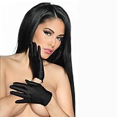 Sexy Stretch Satin mână Lungime Doamnelor mănuși