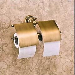 Toiletrulleholder / Antik bronzeMessing /Antik