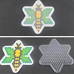 1kpl sapluuna selvä pegboard mehiläinen malli 5mm Hama helmet Perler helmet sulake helmet