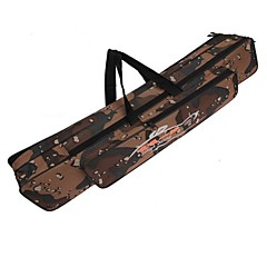 120cm olta çanta çok fonksiyonlu kamuflaj çift katmanlı açık balıkçılık çanta