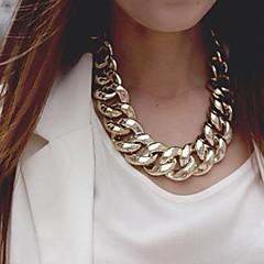 נשים שרשרת סגסוגת אופנתי זהב כסף תכשיטים אירוע מיוחד יום הולדת