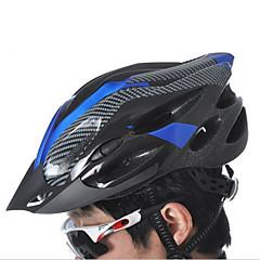 Esportivo Unisexo Moto Capacete 21 Aberturas Ciclismo Ciclismo Ciclismo de Montanha Montanhismo Tamanho Único PC EPS PVCAmarelo Branco