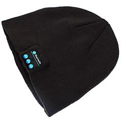 lämmin pipo hattu langaton bluetooth fiksu korkin headphone headset kaiutin mikrofoni iPhone SUMSUNG kännykkään