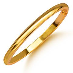 Pánské Dámské Kotníkové náramky Pozlacené Šperky Pro Svatební Párty Denní Ležérní Sport