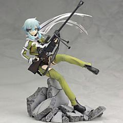 애니메이션 액션 피규어 에서 영감을 받다 Sword Art Online 코스프레 PVC 22.5 CM 모델 완구 인형 장난감