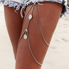 Žene Nakit za tijelo Lančić za nogu Tijelo Chain / Belly Chain Sexy Europska Moda Više slojeva Bikini kostim nakit Legura Jewelry Jewelry