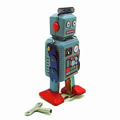 Brinquedo Educativo Brinquedos de Corda Guerreiro Robô Metal