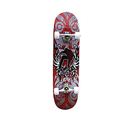 31 Zoll Komplett Skateboards Berufs Ahorn ABEC-7-Rot Blau