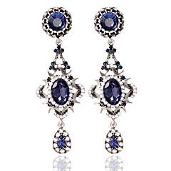 Autres Bijoux Femme Mode Mariage Alliage 1 paire Bleu