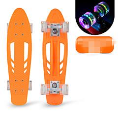 Standart Skateboards Profesjonalne Tahta Mor Sarı Kırmzı Mavi Pembe
