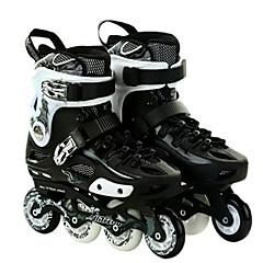Erwachsene Inline-Skates Anti-Shake Atmungsaktiv Wasserdicht Einstellbar Schützend ABEC-7 - Weiß/Schwarz/Rot