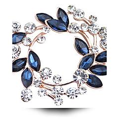 Feminino Casal Para Meninas Outros Broches Cristal Jóias de Luxo bijuterias Imitações de Diamante Cristal Austríaco Jóias Para Casamento