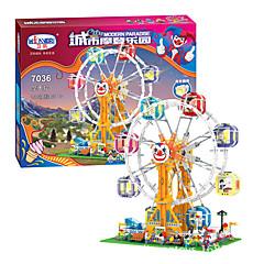 3D építőjátékok Ajándék Építőkockák Játékok és fejtörők Henger alakú Műanyag 5 és 7 éves / 8 és 13 éves / 14 Évek és felfelé Szivárvány