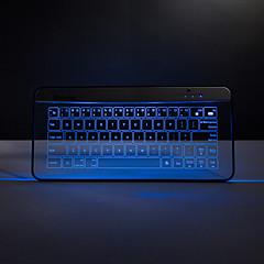bastron drahtlose Bluetooth-transparente Glastastatur mit Funktions Gesten Mousepad Maus