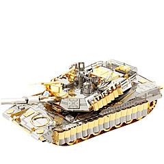 Barkács készlet 3D építőjátékok Fejtörő Fém építőjátékok Versenyautó Játékok Tank 3D Újdonság DIY Lány Fiú 1 Darabok