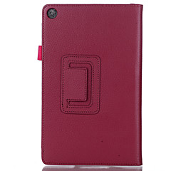 Leather Cover Stand Case for Amazon Kindle Fire 8 Tablet