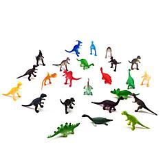 Figurine Acțiune & Animale Modelul de afișare Jucărie de Construit & Model Dinosaur Plastic Curcubeu