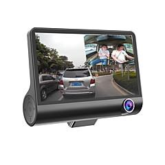 hd car dvr câmera do carro 1080p gravador traço cam g-sensor de vídeo Registrator 3 lente de visão camcorder wdr noite auto DVRs tacógrafo
