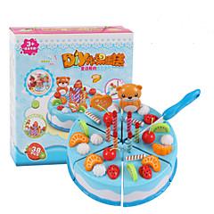 Tue so als ob du spielst Spielzeug-Küchen-Sets Toy Foods Kreisförmig Jungen Mädchen