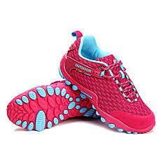 LEIBINDI נעלי ספורט נעלי טיולי הרים נעלי ריצה לנשים נגד החלקה Anti-Shake חסין בפני שחיקה טבע סוליה נמוכה רשת נושמת EVA מחוררריצה ספורט