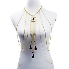 Žene Nakit za tijelo Tijelo Chain / Belly Chain Moda Bohemia Style Legura Geometric Shape Obala Crn Plava Jewelry ZaParty Special