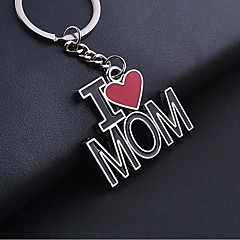 Zinc Alloy Keychain Favors Piece/Set Keychains Non-personalised Silver