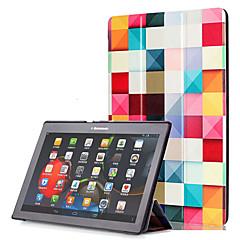 Pu case cover für lenovo tab2 tab 2 a10-30 a10-70 x70f mit Displayschutzfolie