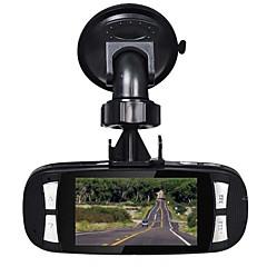 Alcor HD 1280 x 720 Full HD 1920 x 1080 DVR para Carro 2.7 Polegadas Tela 0330 Câmera Automotiva