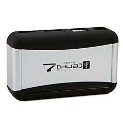 Usb 2.0 7 porter / grensesnitt usb hub aluminium