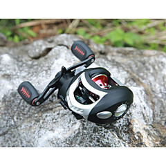 Fishing Reel Bearing Molinete de Isca 6.3:1 18 Rolamentos Destro Canhoto Pesca de Mar Pesca Voadora Pesca de Água Doce Pesca de Isco