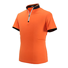 Homme Manches Courtes Golf T-shirt POLO Hauts/Tops Antirides Respirable Confortable Golf