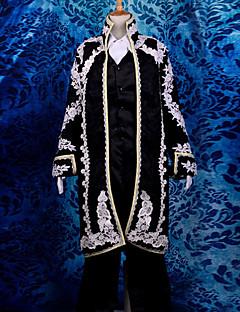 Inspiré par Vocaloid Kaito Vidéo Jeu Costumes de Cosplay Costumes Cosplay Jacquard Manches LonguesCache-col Manteau Gilet Chemise