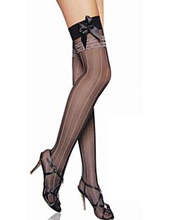 Sokken en kousen Schattig Lolita See Through Zwart Lolita-accessoires Kousen Gestreept  Voor Katoen