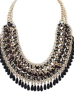 Γυναικεία Κολιέ Δήλωση Κολιέ σαν σαλιάρα Κοσμήματα Κράμα Μοντέρνα Ευρωπαϊκό κοστούμι κοστουμιών Κοσμήματα Για Πάρτι Ειδική Περίσταση