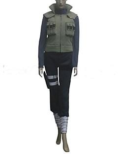 Inspirovaný Naruto Hinata Hyuga Anime Cosplay kostýmy Cosplay šaty Patchwork Dlouhý rukáv obvaz Vesta Vrchní deska Kalhoty Kapsa Pro