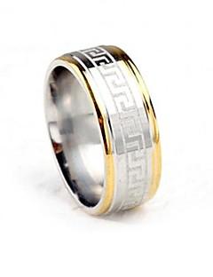 Ringen Feest / Dagelijks / Causaal Sieraden Titanium Staal Bandringen7 / 8 / 9 / 10 / 11 / 12