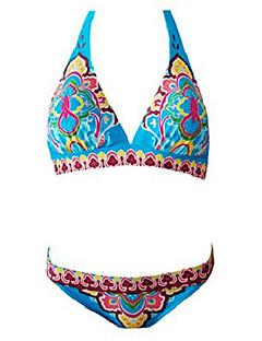 totem indien licol plage du cou maillot de bain bikini ensemble des femmes
