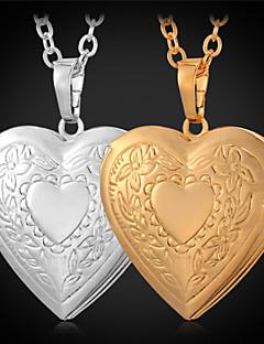 Dames Hangertjes ketting Medaillons Kettingen Koper Verguld Modieus Gouden Sieraden Dagelijks Causaal 1 stuks