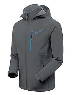 Miesten Vaellustakki Vedenkestävä Pidä lämpimänä Tuulenkestävä Eristetty Sateen kestävä Käytettävä Takki Softshell-takit Talvitakki varten