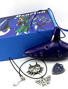 Mais Acessórios Inspirado por The Legend of Zelda Fantasias Anime/Games Acessórios de Cosplay Mais Acessórios Tinta AzulMasculino /