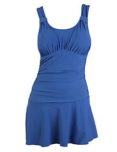 Femme Respirable Compression Lisse Ecologique Polyester Tenue de plongée Sans manche Maillots de Bain-Natation Surf Eté Rouge Vert Bleu