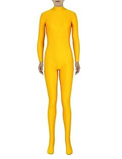 Zentai asut Morphsuit Ninja Zentai Cosplay-asut Keltainen Yhtenäinen Trikoot/Kokopuku Zentai Spandex Lycra Unisex Halloween Joulu