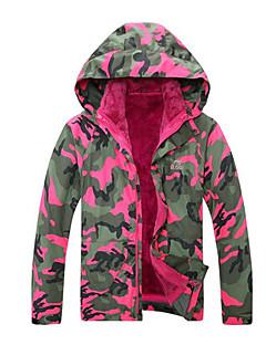 Roupa de Esqui Anoraques Crianças Roupa de Inverno Algodão Vestuário de InvernoImpermeável Térmico/Quente A Prova de Vento Sem