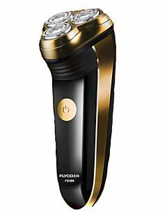 Elektrisk barbermaskin Barter og skjegg Elektrisk Roterende Barbermaskin Barbering tilbehørDreibart Hode LED Lys Ergonomisk Design